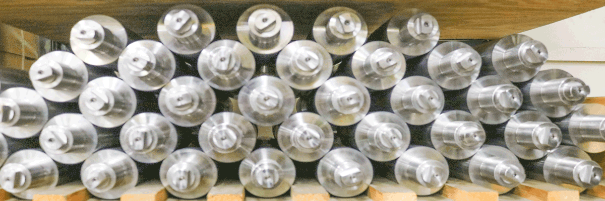 Newly Manufactured Anilox Rolls